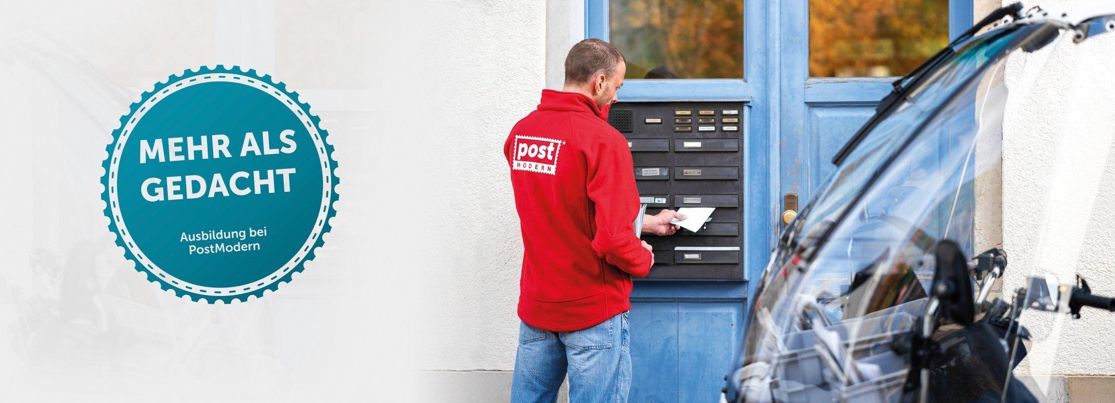 Ausbildung zur Fachkraft für Postdienstleistungen